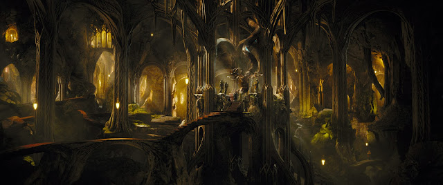 Elf Kingdom in in The Hobbit 2: The Desolation of Smaug movie still image picture photo