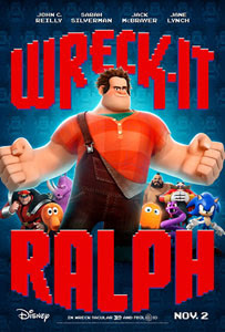 Poster original de ¡Rompe Ralph!