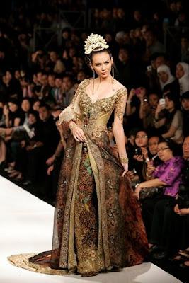 Model Kebaya Pengantin 2012