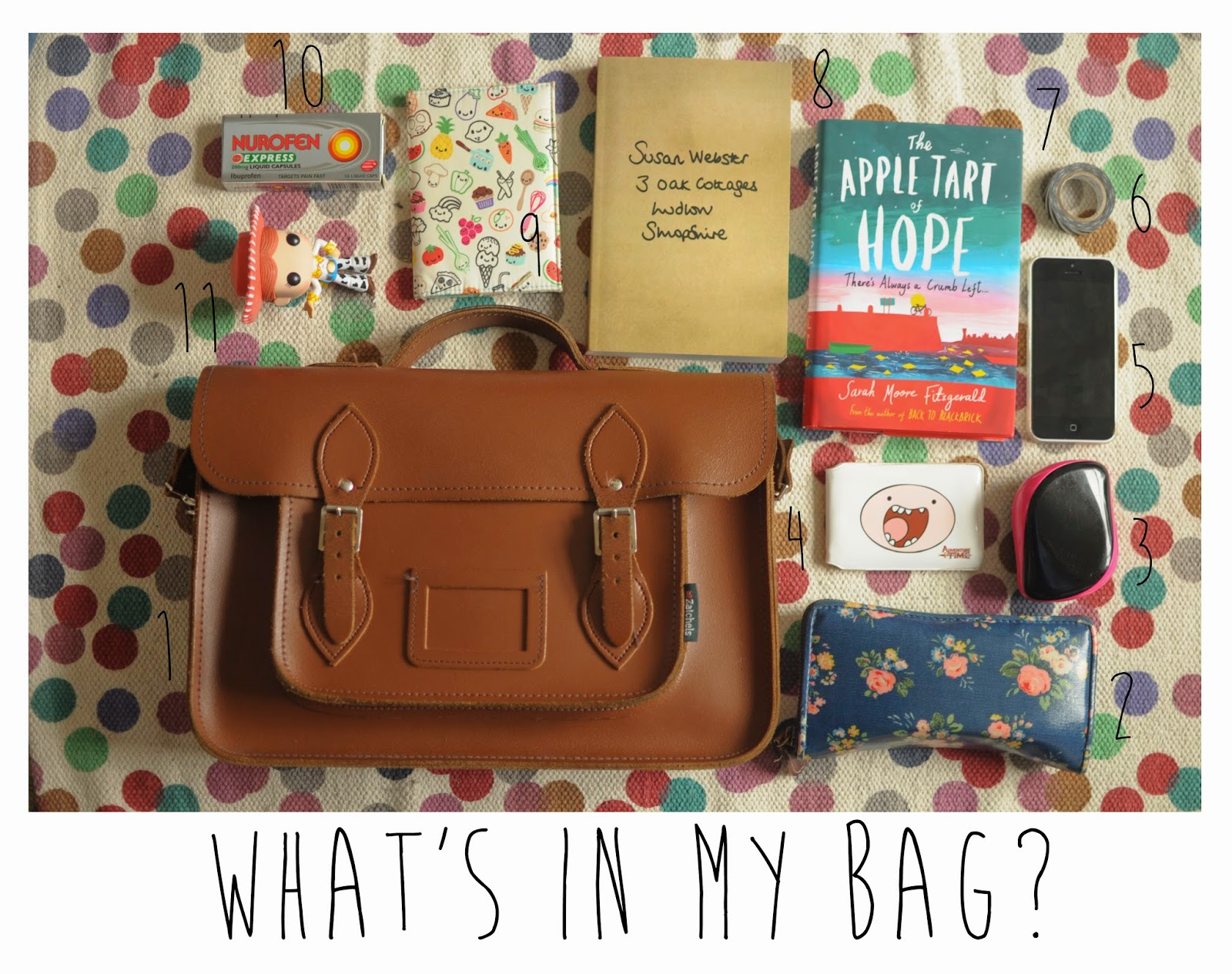 Zatchels Satchel in Chestnut - I've had this bag for 2 years now and used it almost daily I'm amazed that not only is it still held together but it also is ...