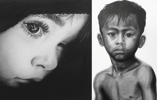 00-Norlan-Vilchez-Cultural-Diversity-Drawings-with-Charcoal-and-Graphite-www-designstack-co