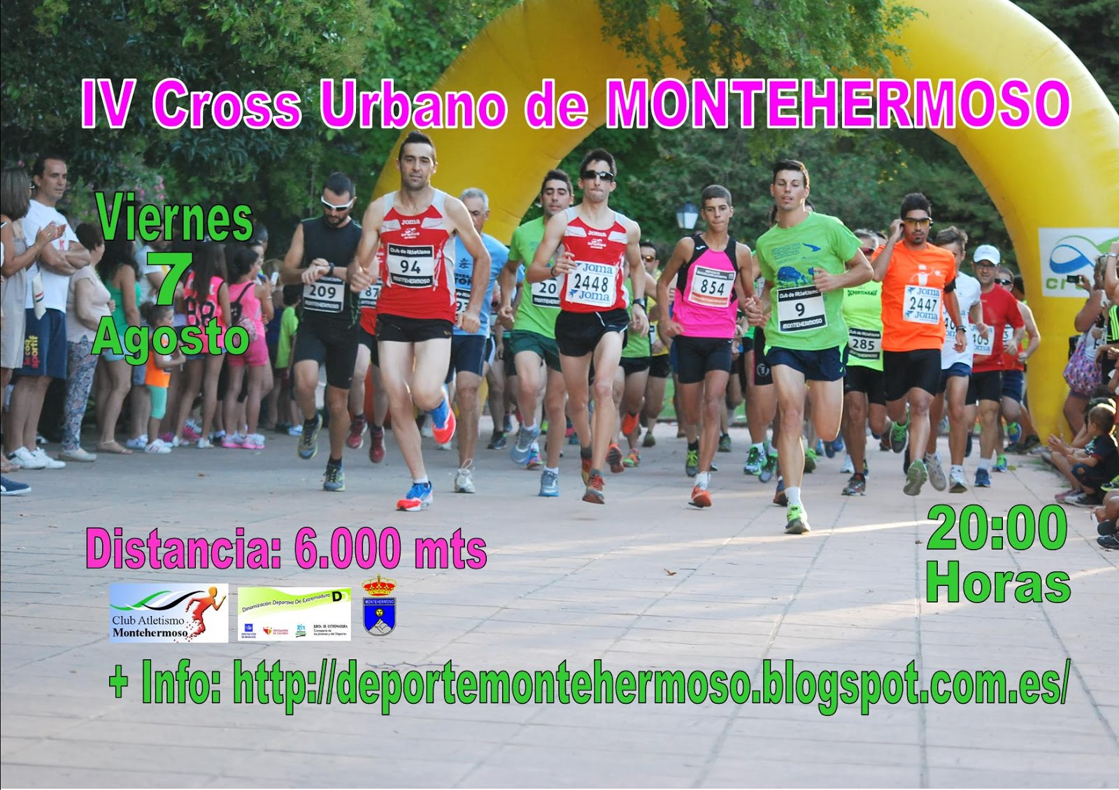 IV Cross Urbano de Montehermoso