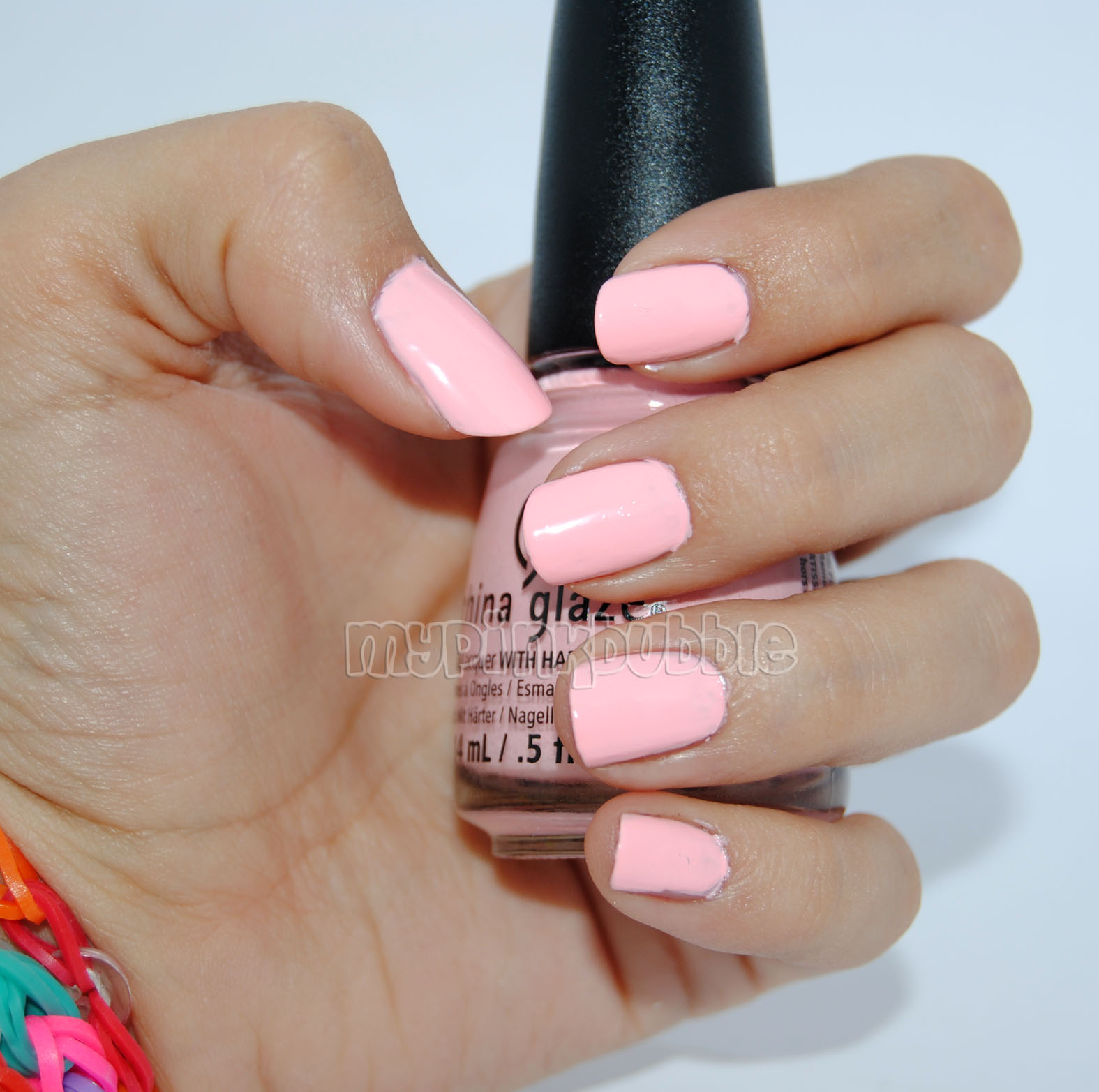 China Glaze Spring in my step swatch