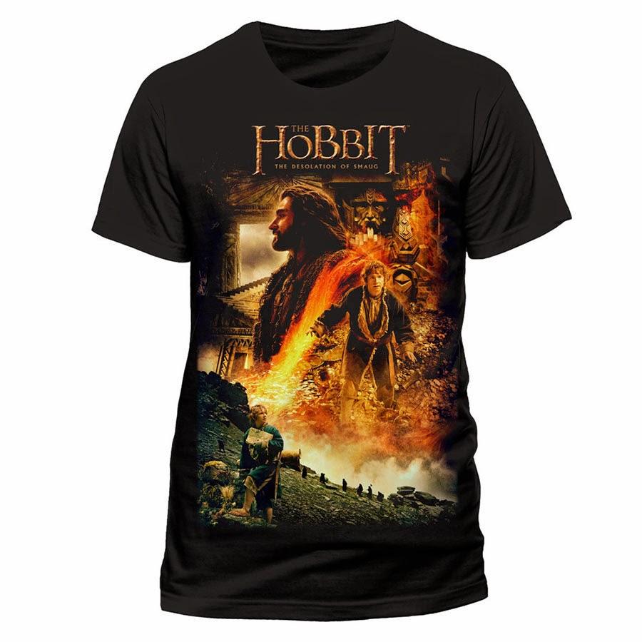 Camiseta El Hobbit La Desolación de Smaug