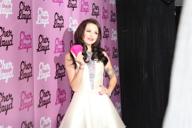 Cher Lloyd fragrance launch