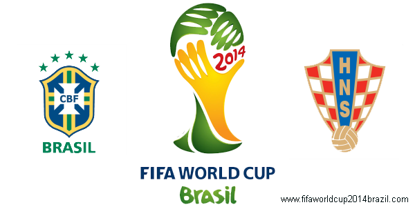 Brazil vs Croatia FIFA World Cup 2014 Live Team Lineup, Stats, Features