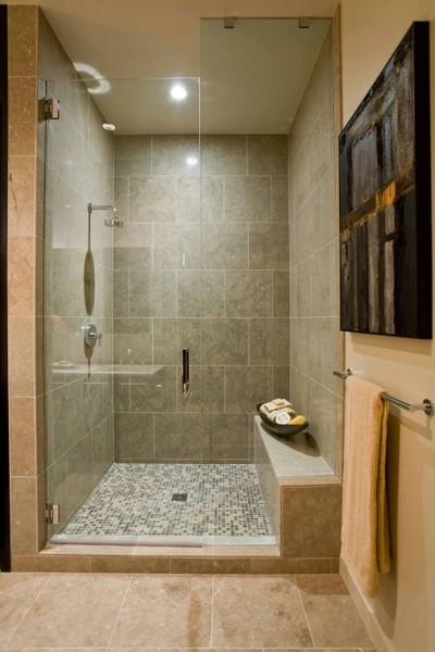 simple grey tiled shower tiles mosaic tile shower