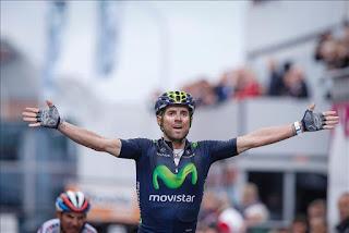 CICLISMO - Alejandro Valverde consiguió al esprint su segundo título de campeón de España de fondo