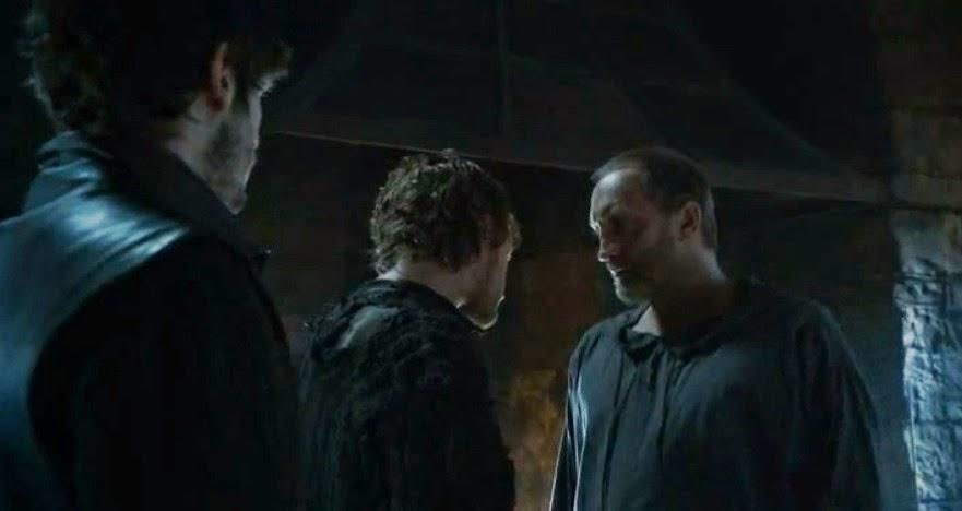 Roose Bolton Theon Greyjoy - Juego de Tronos en los siete reinos