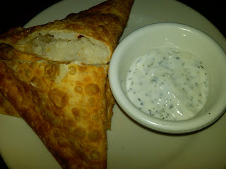 Fried mashed potato turnover