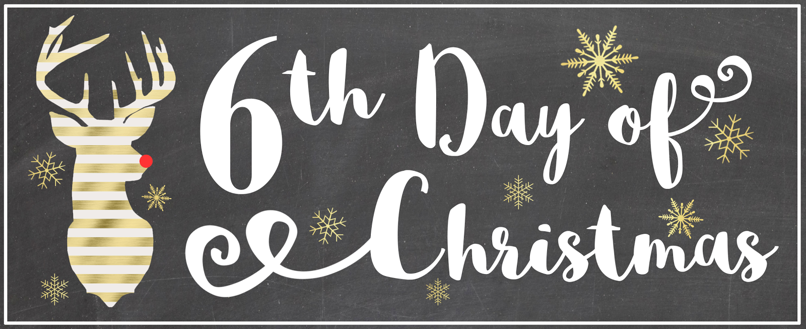On the 6th day of christmas gift ideas