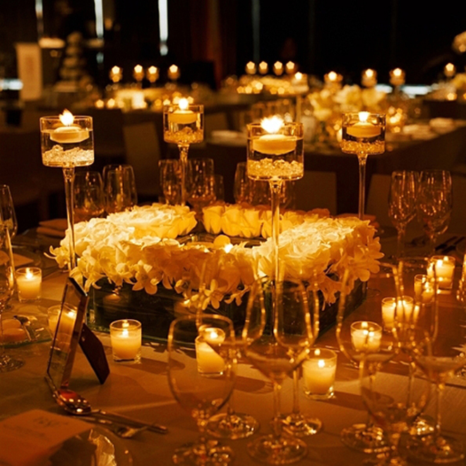 Wedding Reception Centerpieces Candles: 25 Stunning Wedding Centerpieces