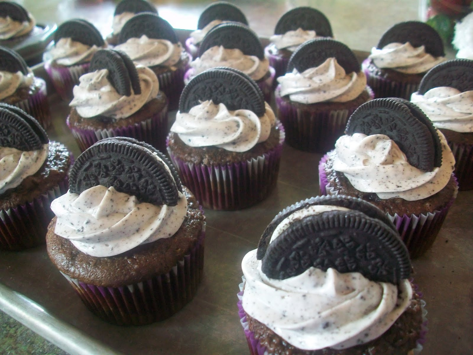 Double the Deliciousness: Death by Oreo Cupcakes