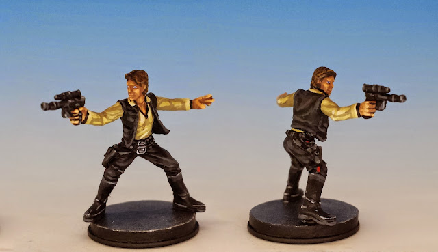 Han Solo, Fantasy Flight Games (2014, sculpted by Benjamin Maillet, painted by M. Sullivan)
