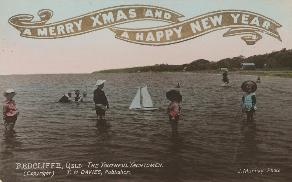 The Passion Of Former Days Australian Christmas Postcards