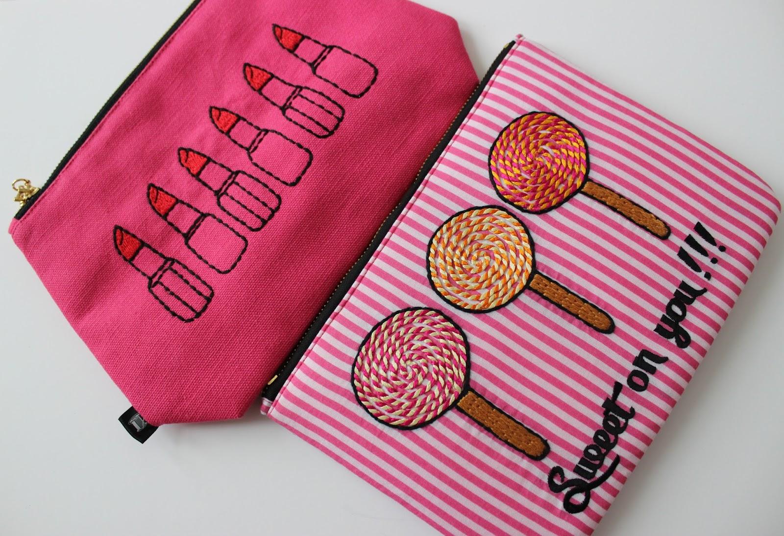 Sew Lomax makeup bags