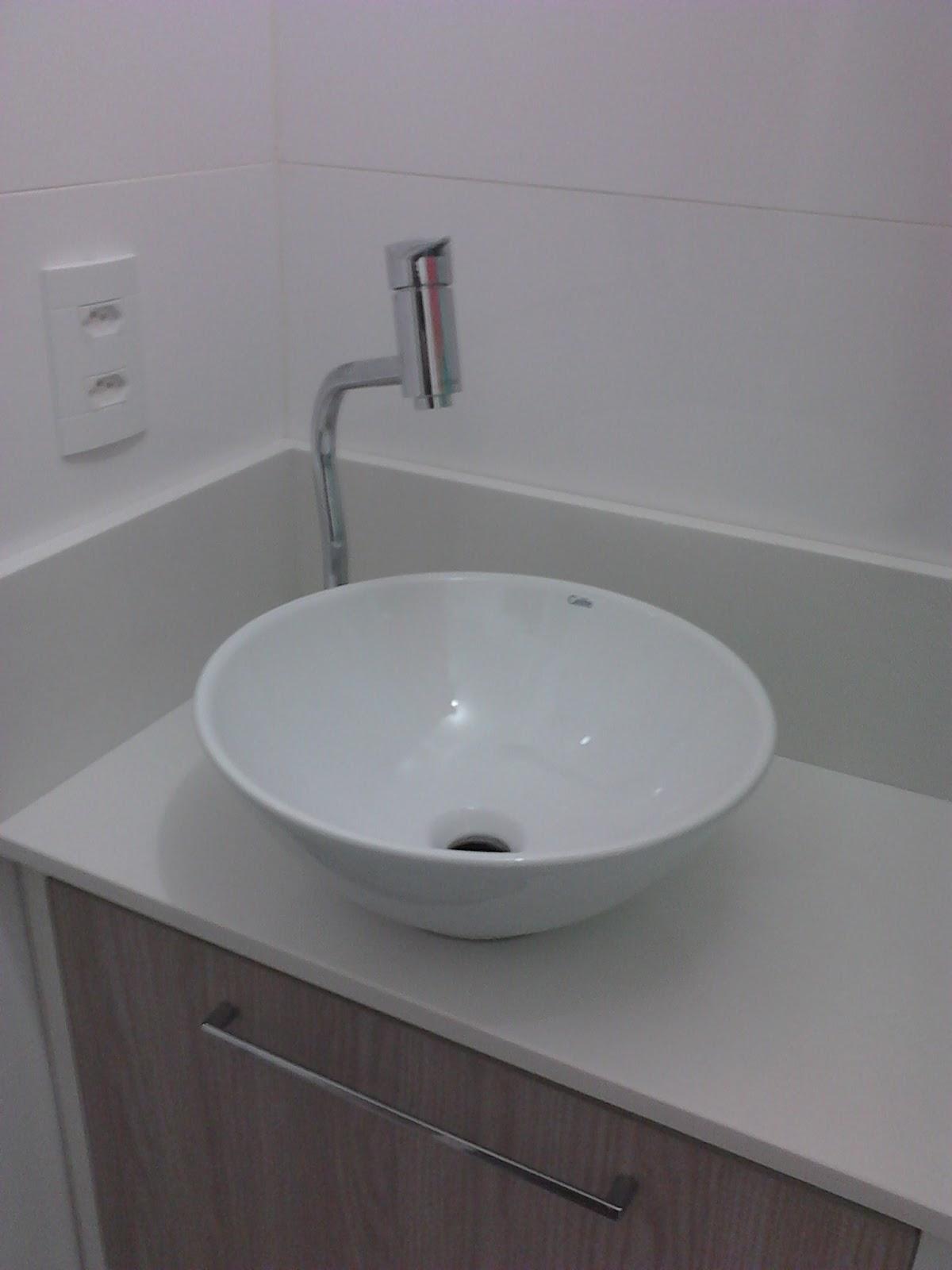 Casei, quero casa Novidades do banheiro -> Pia Banheiro Altura Padrao