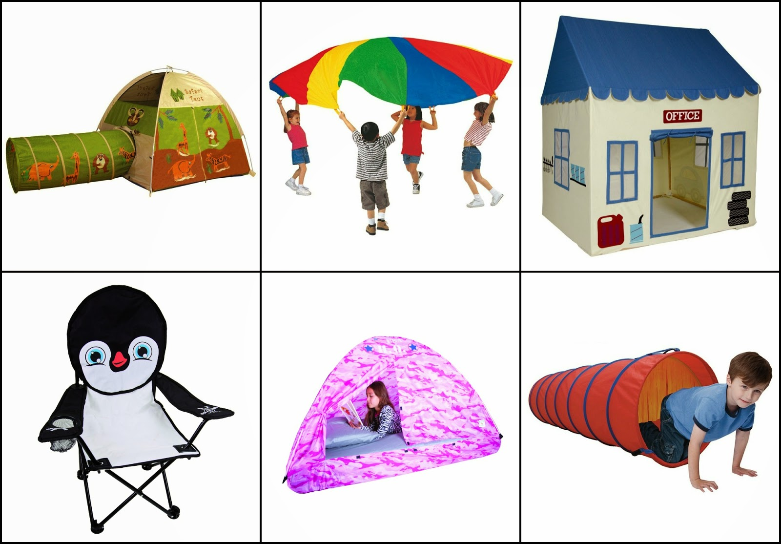Pacific Play Tents products