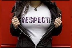 mais respeito...