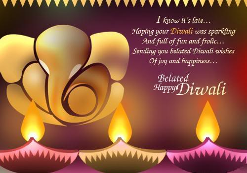 belated happy diwali wishes m4hsunfo