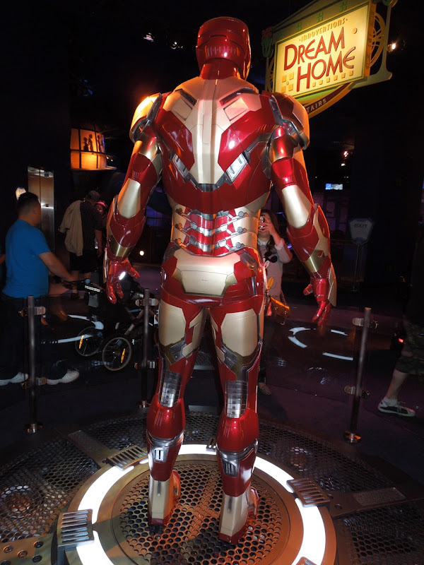 Iron Man 3 armor back view