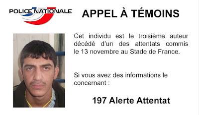 öngyilkos merénylő, párizsi vérengzés, franciaországi terrortámadás, Iszlám Állam, Párizs, Stade de France, illegális bevándorlás, Police Nationale