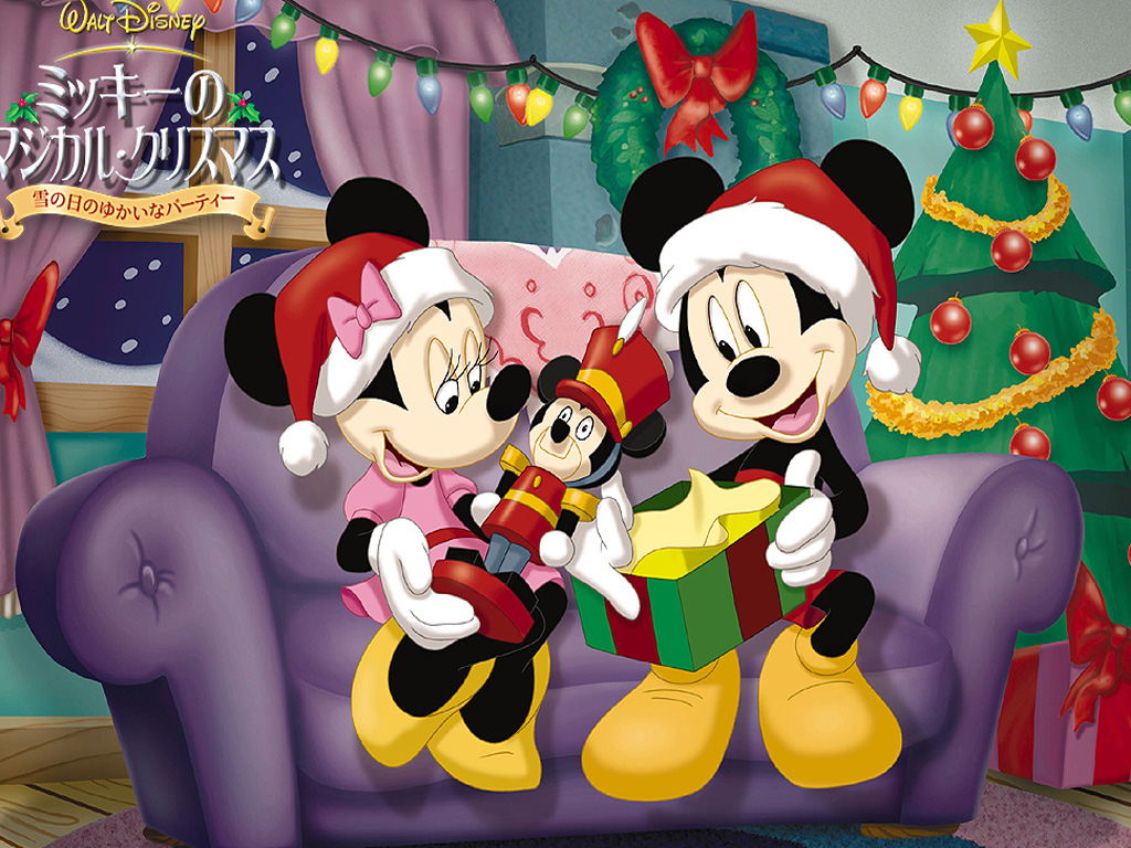 Image screensaver free mickey mouse wallpapers - Minnie mouse noel ...