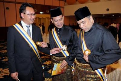 Datuk Rosyam, Datuk Ramli Dan Datuk Kim Swee , anugerah pingat DPSM,