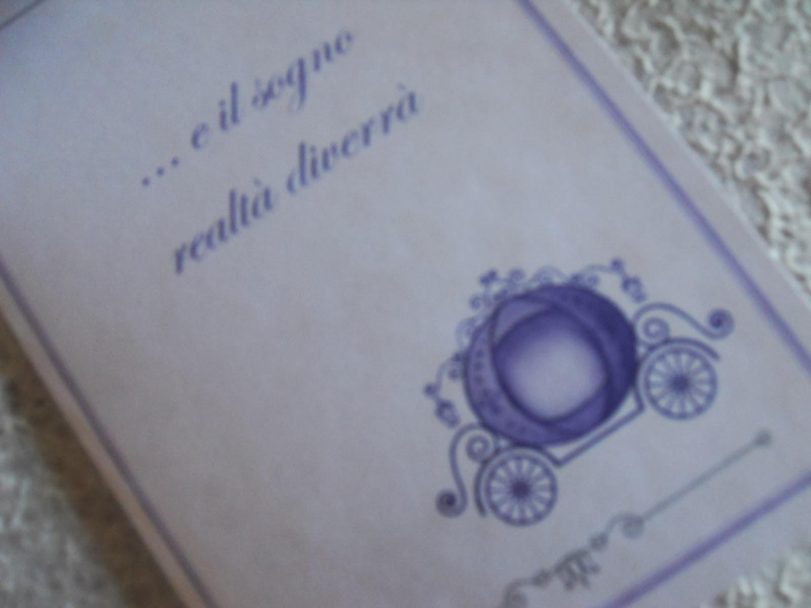 Matrimonio Tema Il Sogno : Eventilab partecipazioni e co ordinati tema quot favole
