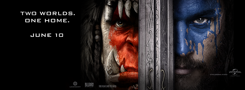 Two worlds one home warcraft movie pictures.