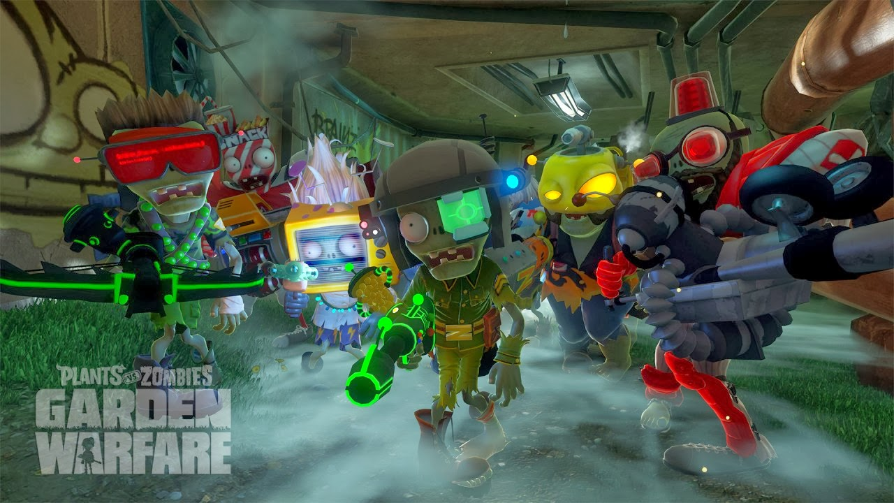 Plants Vs Zombies Garden Warfare Video Game Review Biogamer Girl