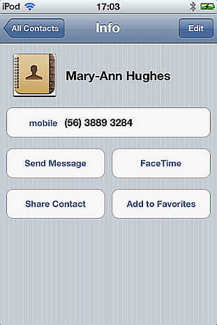 copy iphone contacts