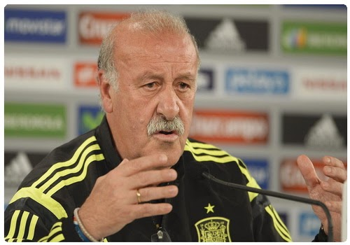 Del Bosque: This is a short tournament and we want to find the best solution