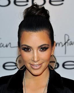 Kim Kardashian Donut Bun