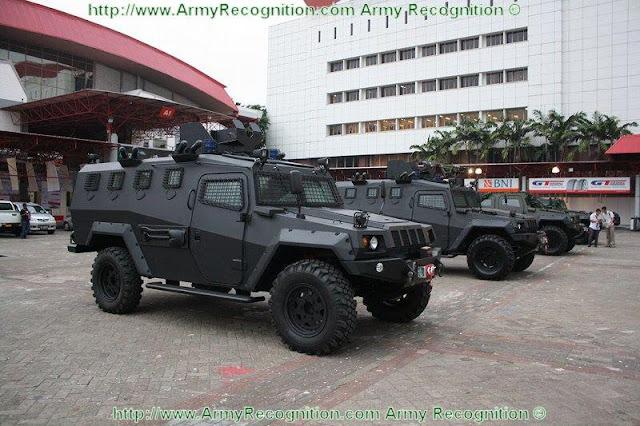 Ranpur Komodo, Humvee Versi Pindad Digunakan Oleh Pasukan Khusus Indonesia
