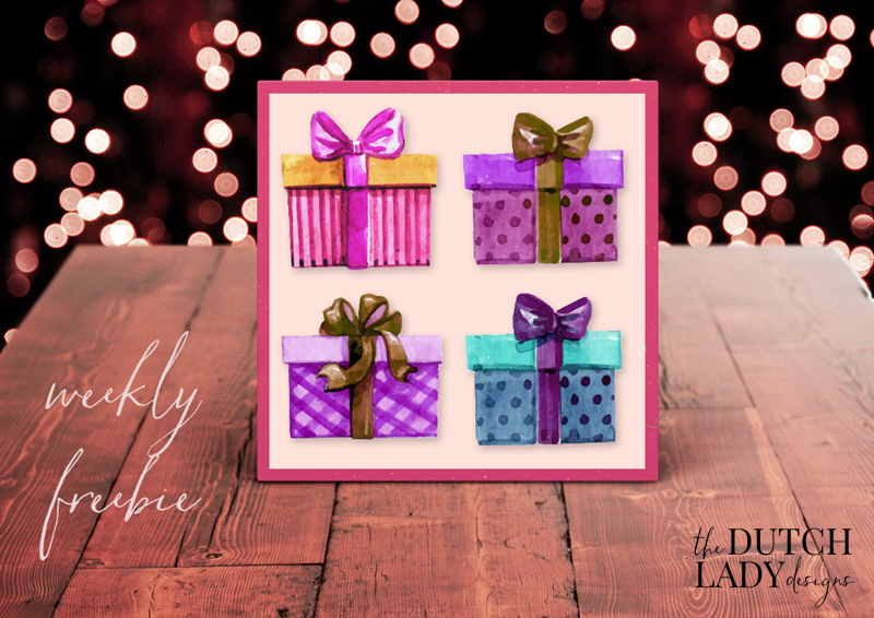 free present and gift clipart