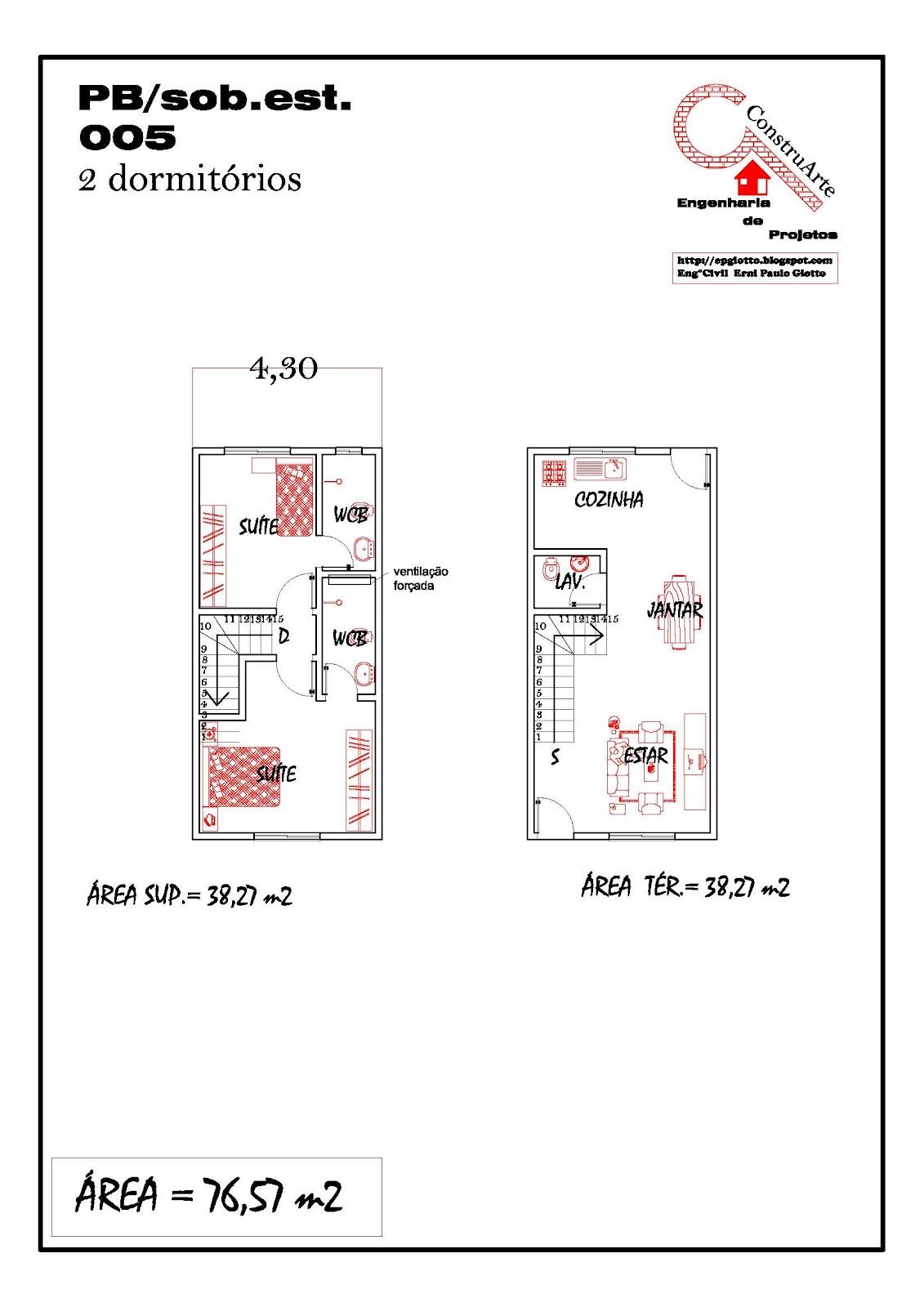 de Planta Baixa Modelos de Sobrados Planta de casa projeto  #BE0E0D 1131 1600