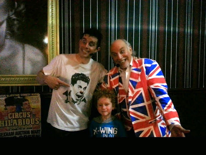 Circue Du Hilarious Review on Blackpool Central Pier meet the stars