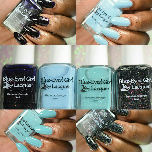 Blue-Eyed Girl Lacquer Fragments & Chaos Collection