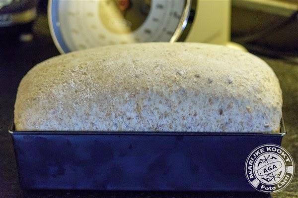 Speltbrood met lijnzaad