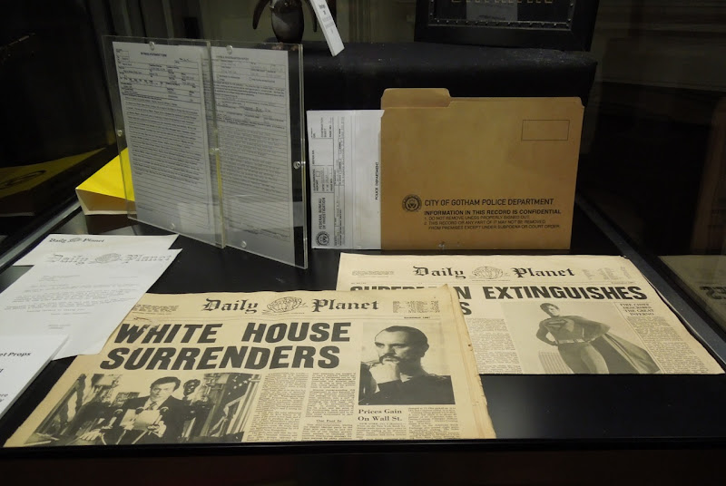 Superman II Daily Planet newspaper props