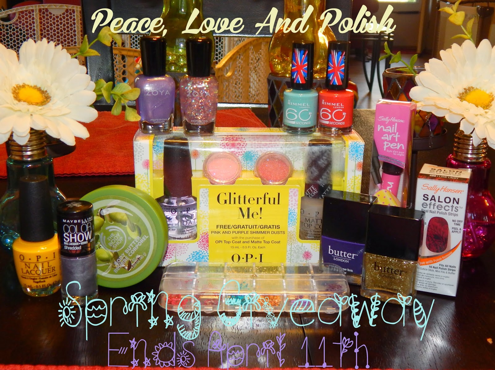 Sorteo Peace, Love and polish