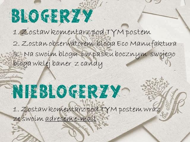 Candy u Manufaktury październikowa i listopadowa zabawa na blogu decoupage