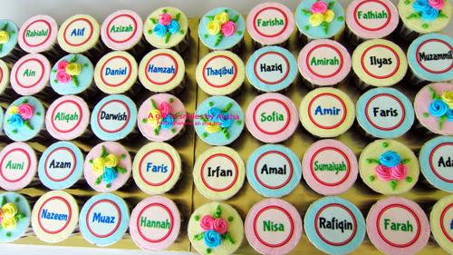 Cupcake Edible Image Aisha Puchong Jaya