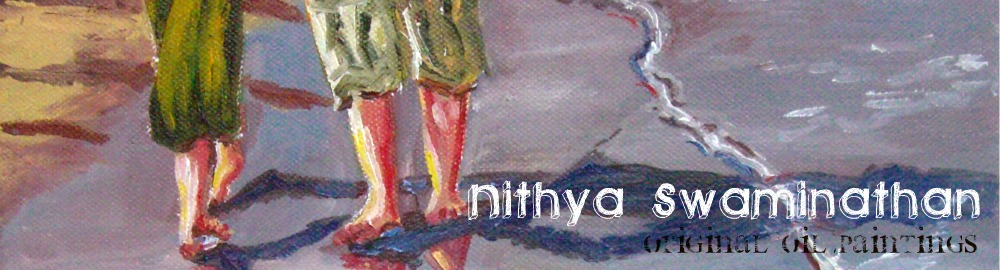 Nithya Swaminathan - Original Paintings