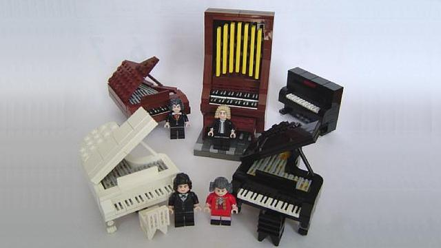 My Favourite Lego Grand Piano Moc By Hidaka