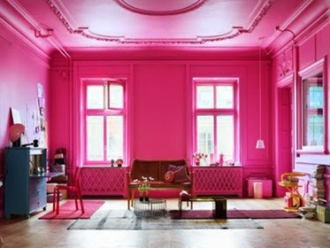 Warna Cat Kamar Tidur Rumah Minimalis Pink Terbaru