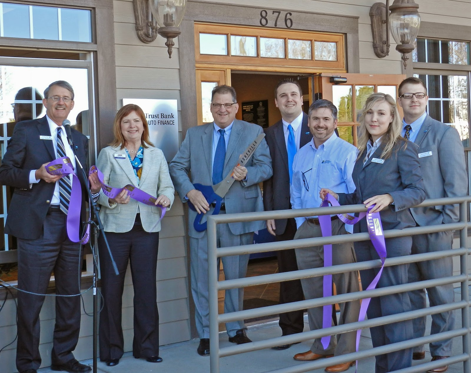Asheville Business Blog HomeTrust Bank announces opening of new
