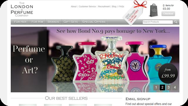 London perfume company website