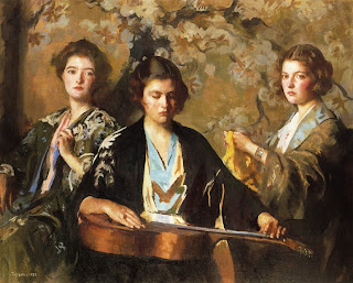 Edmund C. Tarbell, My three granddaughters